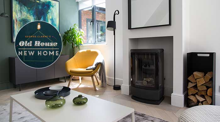 Loft Gas Stove featured in contemporary renovation on Channel 4